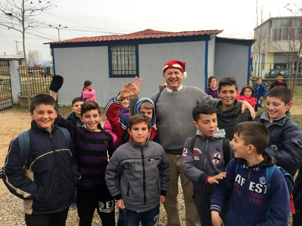 Albania Shoebox appeal